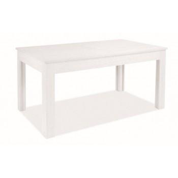 Tavolo Super 4 160x90 cm allungabile bianco frassinato