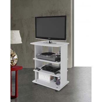 Mobile porta Tv Elide 60x45xh81 cm Bianco frassinato