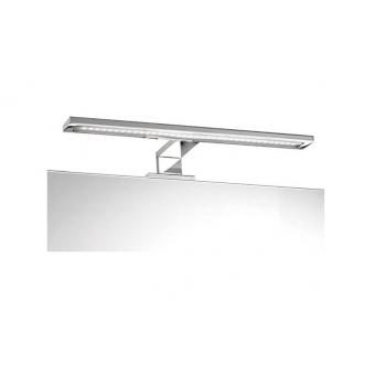 Mobile bagno 3 cassetti a terra 80 cm Rovere chiaro con specchio